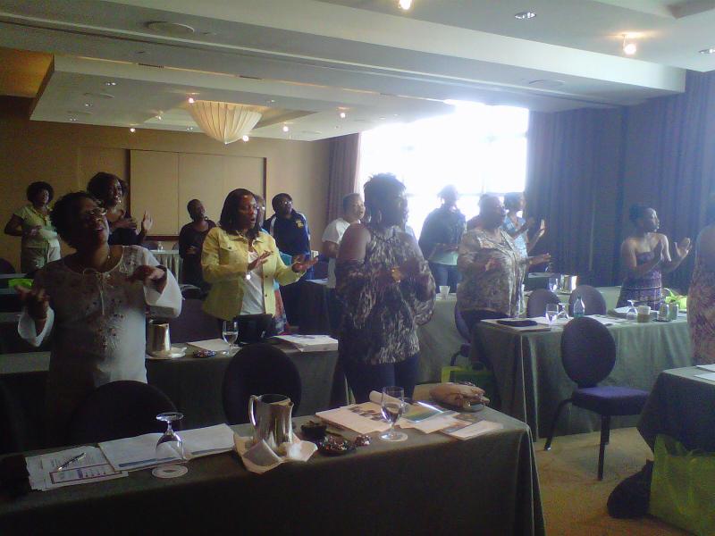 HWWA participants join in the fun